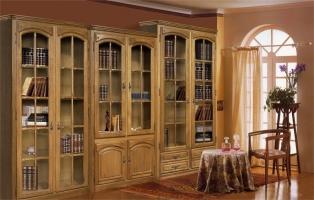 Шкаф с витриной БМ-1443