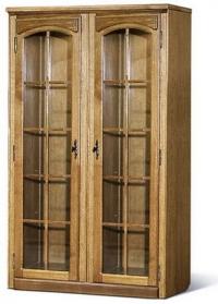 Шкаф с витриной  БМ-1442-02 (полки стеклянные)
