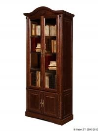 Шкаф с витриной (книжный)