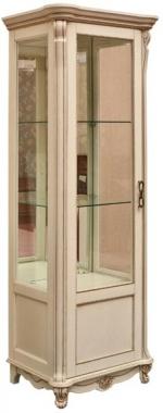 Шкаф с витриной Алези 8