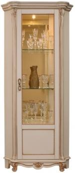 Шкаф с витриной Алези 10