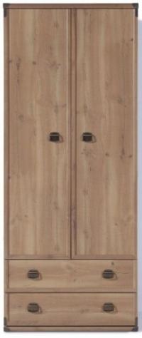 Шкаф платяной JSZF2d2s
