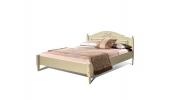 """Двуспальная кровать """"Фиерта 4"""" с низкой спинкой (1600)"""