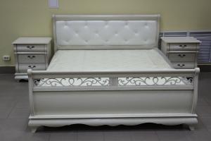Кровать Оскар 180 и две прикроватных тумбы